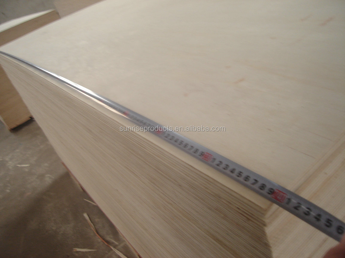 15mm poplar plywood for furniture