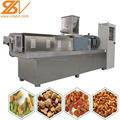 2018 New Design automatic Puffed pet food snack extruder machine production line