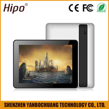 "Hipo 9.7"" Quad Core 1GB Ram Android 4.4 8G 16G ROM Tablet PC with 3G camera"