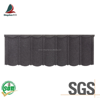 Colorful Natural Sand Coated Roofing Tiles