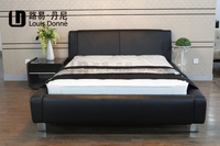 Classical design latest style king size platform bed