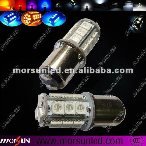 12 DC T20 27*5050 smd led turning light, car tail light, t20 auto braking light