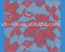 Raschel cotton lace fabric B-A15