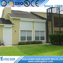 Good Waterproof Roller Shutter Exterior Window With Manual