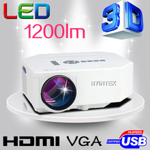 remote control support FULL HD HD MI USB Video portable pico1200lumens LCD LED Mini Projector Proyector Beamer Projetor