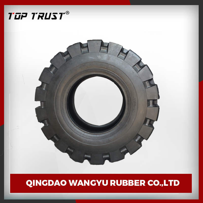 professional QC team made good balance product bias 375 Kpa rubber otr tyre