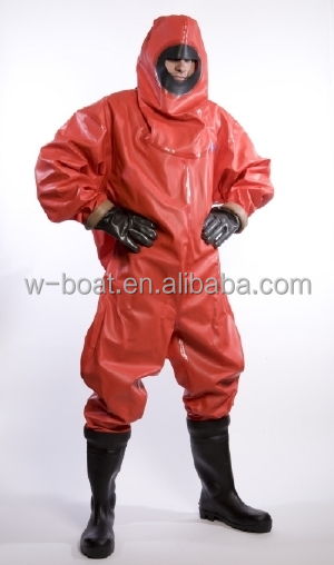 rubber chemical suit