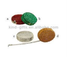 Rhinestone Studded Tape Measure