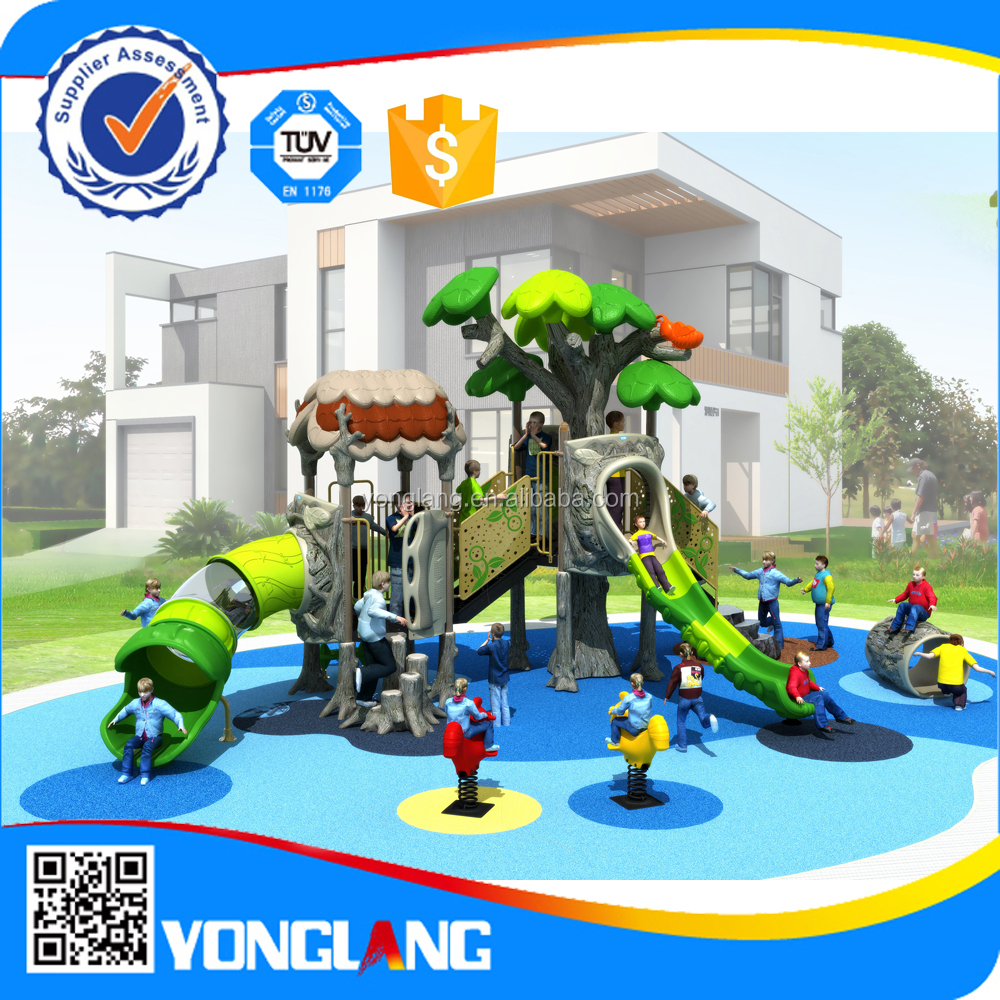 2016 Newest kids big playground equipment YL-T063 child funny games toy