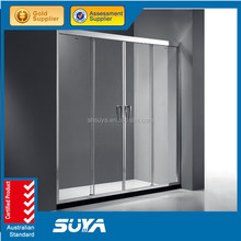 Shanghai SUYA suprised price tempered glass small Shower screen