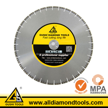 Large Size Wet Cutting Diamond Walk Behind Concrete Saw Blades