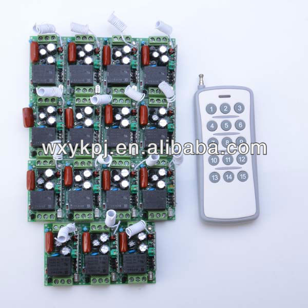 1ch remote control wireless power switch 220v