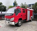 Foton Forland double cab water and foam tank fire truck with fire pump diesel cummins engine for sale