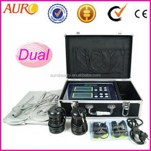 Au-08 Top Quality and Great Price Dual Ion Cleanse Cell Spa Detox Machine,Dual System Water Foot Massage