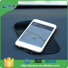 Dashboard PU phone holder anti slip table pad with low price