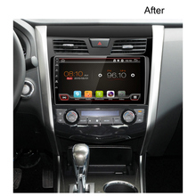 10.1 inch Altima car dvd player with gps with Navigation supports both synchronous playback radio