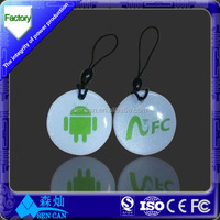 Rfid NFC Key tag, Epoxy NFC Key fob, Rfid NFC Key Ring 100 modules for tag