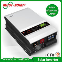 Solar Power With CE & FC Approved Poly Mono PV Panels 12 220 dc-ac Inverter Solar Inverter