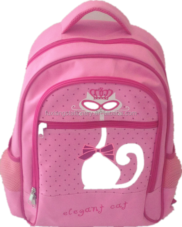 2016 Hot Sale Fashion waterproof Kids school backpack bag