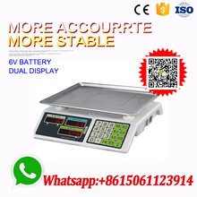 manual 15kg electronic balance weighing scales for fruits