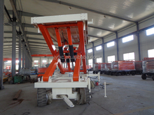 SKYSCRAPING TOWER cargo transfer scissor lift platform mobile hydraulic lift table