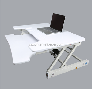 Home office height adjustable standing office computer desk