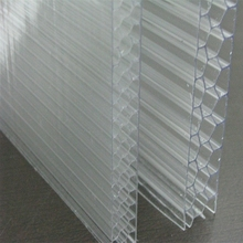 UV-coated Lexan Honeycomb Polycarbonate Sheet Greenhouse Skylight Glazing