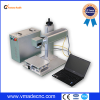 5w 6w8w 9w 18w LED light bulb Optical fiber laser marking machine/IPG laser source
