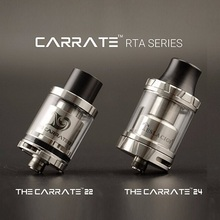 New Products Teslacigs Carrate RTA 22mm/24mm Two Type Large Caliber Delrin Drip Tip Tesla Carrate RTA