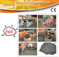 Plastic pellet making machine/Waste plastic granule making machine/pp pe film pellet production line