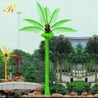 China wholesale lighted palm trees for outside