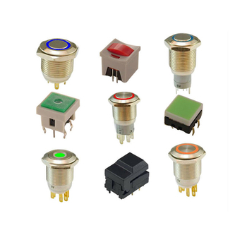High quality 001 KLS brand LED push button switch