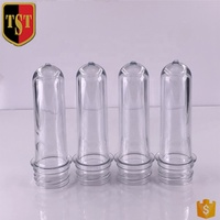 High quality 28g 500ml pet plastic cosmetic bottle preform 30/25