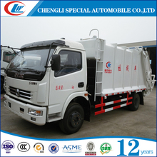 china 8 ton garbage transport compactor truck for sale