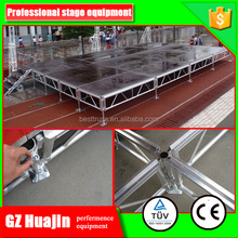 mobile folding stage,foldable mobile stage very easy to transpotation and build