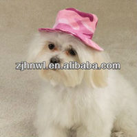 fabulous Pink Camo Hat for dog