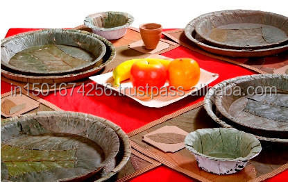 Disposable Dinnerware/ Dried Leaf Dinnerware / Eco-friendly Dinnerware