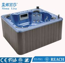 Monalisa Hot Tub with Foot Massage Durable Outdoor SPA (M-3324)