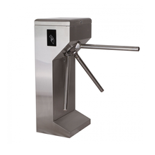 Electronic Security Gate Access Waist Height Turnstiles Equipped with IR Sensors, semi-automatic,bi-direction