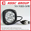 6063 Aluminum Black Housing 4.3in Led Lights For Off Road Work Lights Xenon Light Replacement IP68 CE ROSH Passed