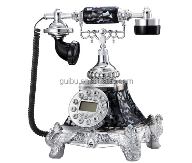 Leopard Sexy Industrial Style Metal Decoration Telephone JHF-9085D