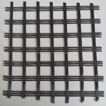 PVC coated polyester geogrid flexible PET geogrid for soil stabilization