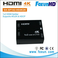 Mini HDMI 2.0 Splitter w/ 3D 4K support, 1 in 2 out - Can do OEM order!