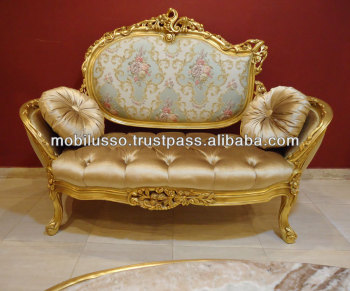 French baroque sofa set living room royal furniture sofa set