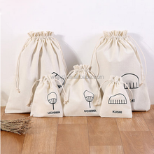 Promotional cotton commercial storage jewelry organizer pouch bag