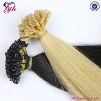 Indian 100% remy cheap wholesale Pre bonded double drawn I tip Hair Extension