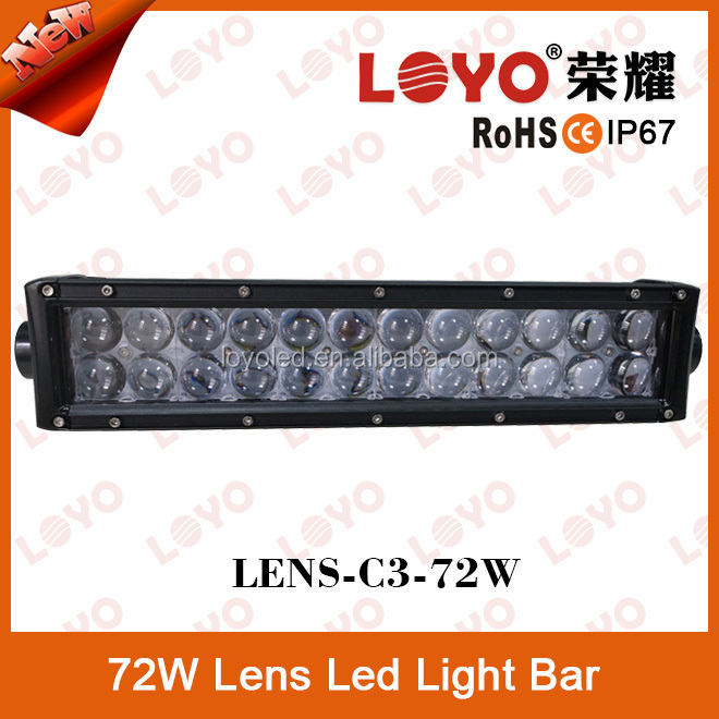 2015 newest product offroad 4D projector 20w 36w 72w 120w 180w lens led light bar