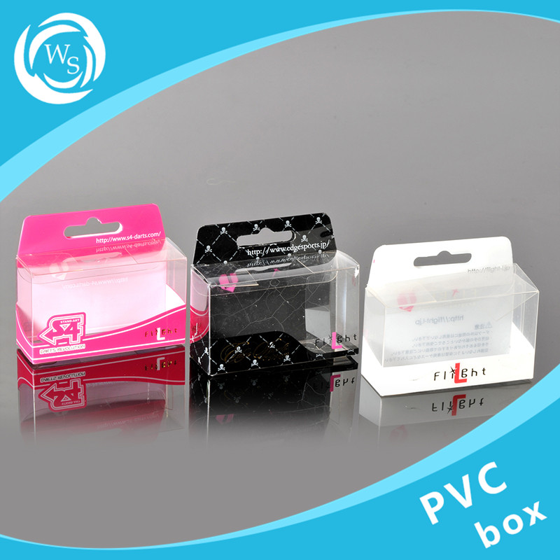 Customized logo printing square or cylinder new clear pvc plastic packing boxes