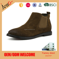 Autumn And Winter Round Toe Leather