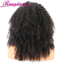 Hot Sale Curly Afro Wigs for Black Women Natural Color Front Lace Wig